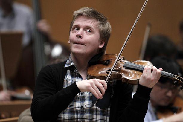 Pekka Kuusisto on kansainvälisestikin arvostettu viulisti.