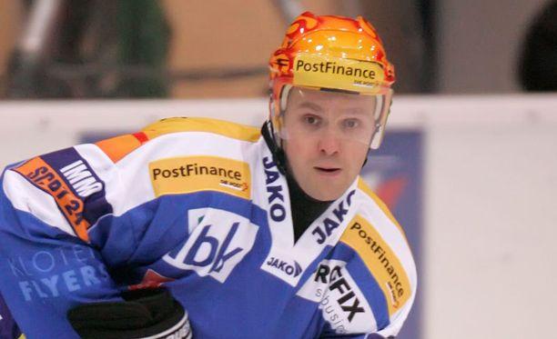 Kimmo Rintanen pelasi Klotenissa kymmenen kautta.