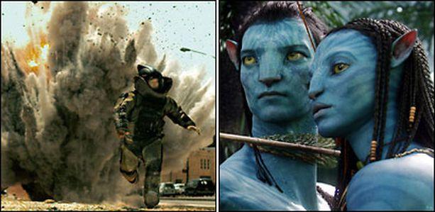 Pienen budjetin Hurt Locker ja Avatar, yksi kaikkien aikojen kalleimmista elokuvista, kamppailevat Oscar-gaalan herruudesta.