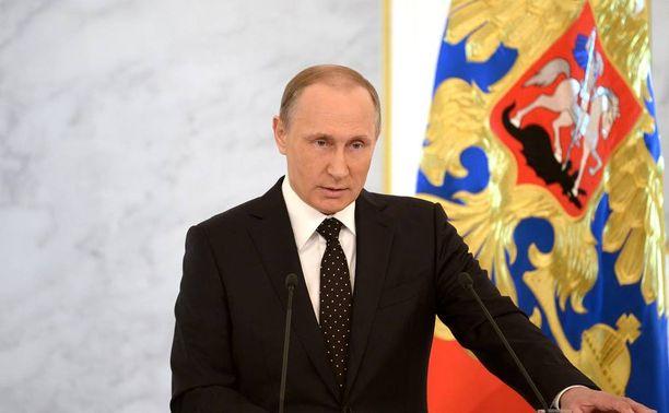 Putin otti esiin ydinaseen käytön mahdollisuuden terroristeja vastaan.