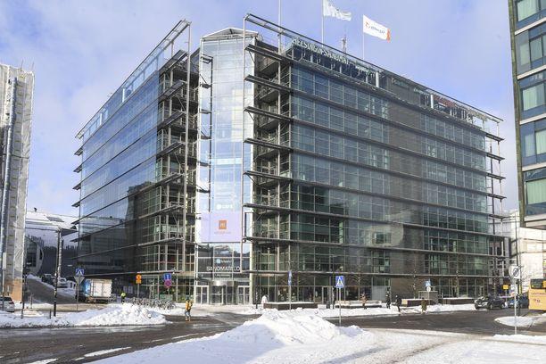 Sanoma-yhtiö joutuu päätöksen mukaan maksamaan 20 miljoonaa euroa arvonlisäveroja takautuvasti. Kuvassa yhtiön pääkonttori Sanomatalo Helsingissä.