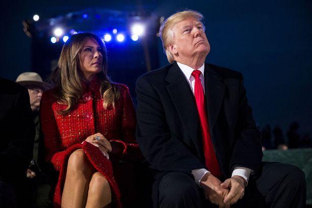 Melania ja Trump ovat olleet naimisissa vuodesta 2005.