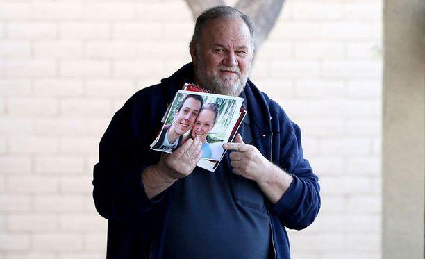 Thomas Markle aikoo olla mediassa esillä niin kauan, kunnes hän saa yhteyden tyttäreensä.