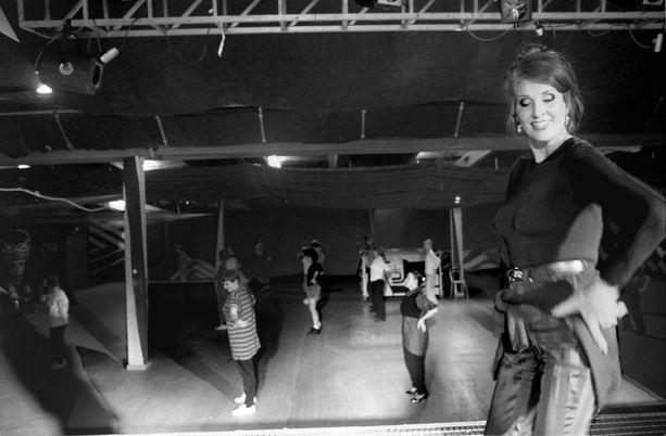 Aira järjesti tanssikurssin työttömille vuonna 1996.