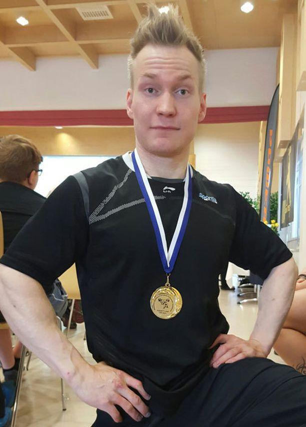 SM-mitaleita voittaneella Artturi Verholla on edessään MM-debyytti.