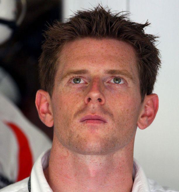 """Anthony Davidson oli sunnuntaina katsomassa Euroopan GP:tä """"sillä silmällä""""."""