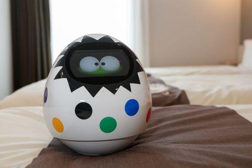 Robottiteema näkyy myös Henn-na Hotelin huoneissa.
