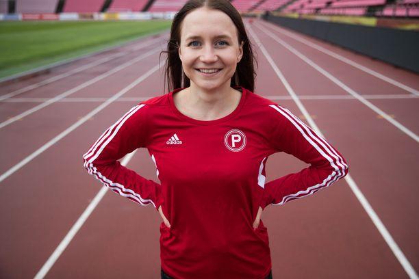 Reetta Hurske metsästää Dohan MM-kisojen tulosrajaa keskiviikkona Tampereen Ratinassa käytävässä GP-kisassa.
