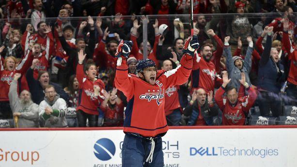 Aleksandr Ovetshkin on nyt kaikkien aikojen viidenneksi paras maalintekijä NHL:ssä.