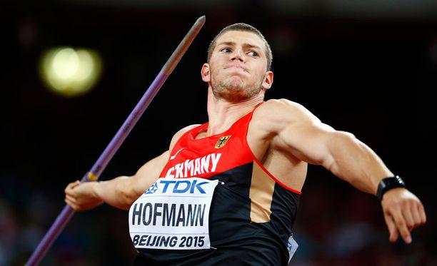 Andreas Hofmann kisaa Turussa.