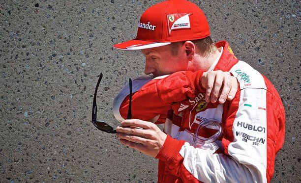 Kimi Räikkönen on kuuma puheenaihe F1-maailmassa.