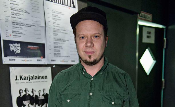 Tuomo Prättälä tuli konserttiin muistelemaan hyvää ystäväänsä Zarkus Poussaa.