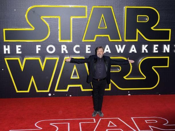 Mark Hamill on nähty Luke Skywalkerin roolissa jo yli 40 vuoden ajan.