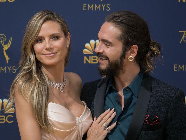 Heidi Klum ja Tom Kaulitz ovat kihloissa.