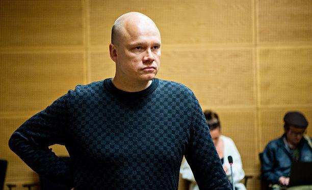 Ilari Sahamiehen tapausta käsiteltiine keskiviikkona Helsingin käräjäikeudessa.