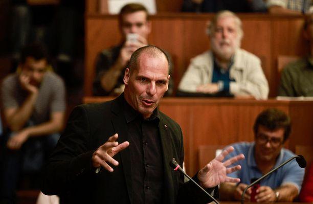 Yannis Varoufakis on kiertänyt puhumassa eri puolilla maailmaa.