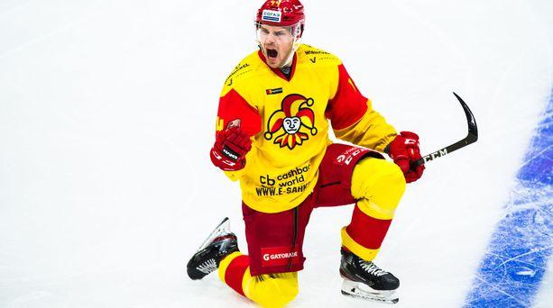 Mikko Lehtonen vahvistaa Jokerien puolustusta KHL-kauden alkaessa.