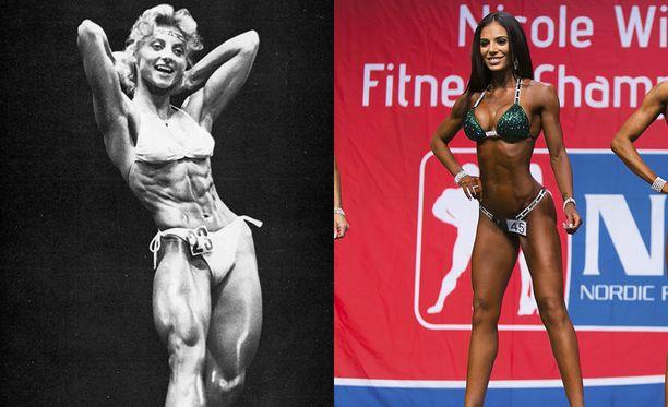 Kike Elomaa voitti Ms Olympian vuonna 1981. Sofia Belórf voitti bikini fitnessin amatöörien maailmanmestaruuden vuonna 2015.