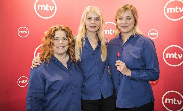 Kiti Kokkonen, Alina Tomnikov ja Pihla Penttinen tuovat Putoukseen uusia tuulia.