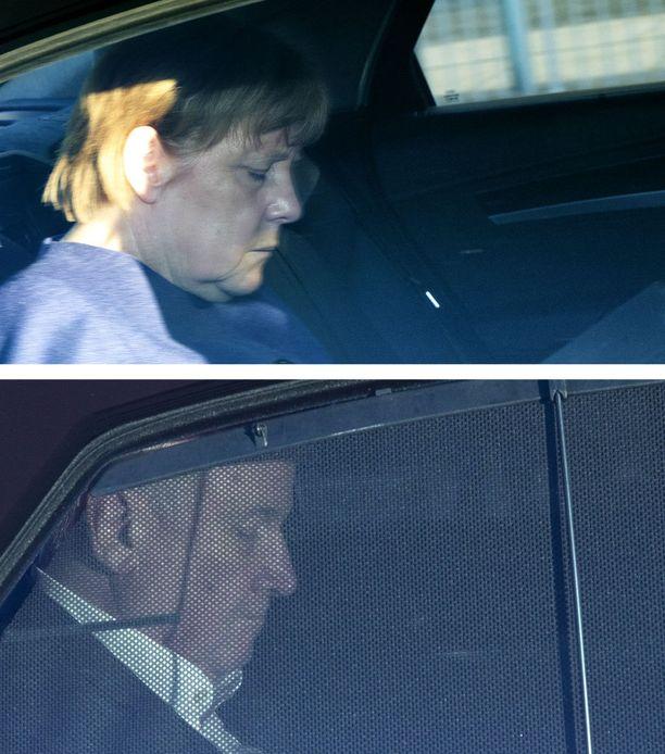 Merkel ja Seehofer ovat olleet turvapaikanhakijoihin liittyvistä käytännöistä täysin eri mieltä.
