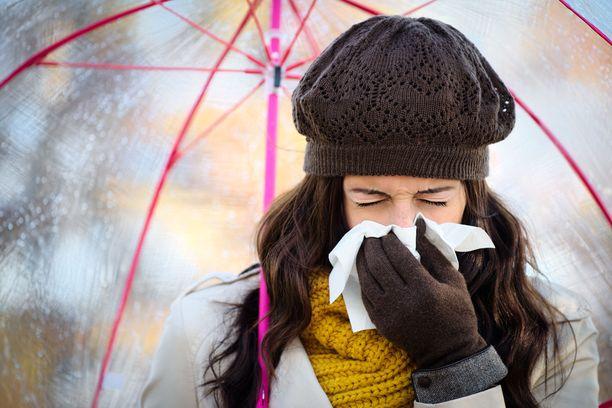 Syksyllä voi tuntua siltä, että flunssaa seuraa toinen ja kolmaskin.