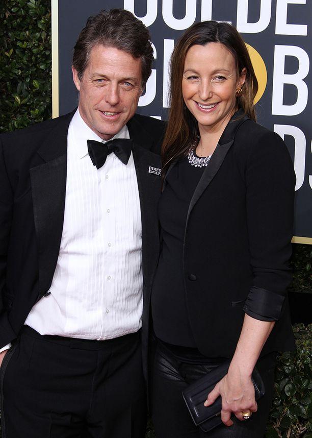 Hugh Grant ja Anna Eberstein