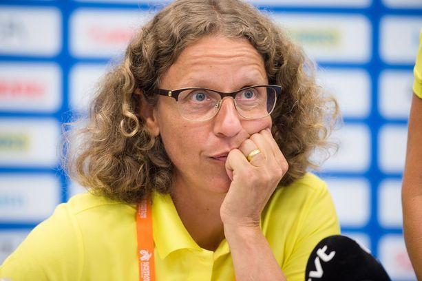 Karin Torneklint on Ruotsin yleisurheilumaajoukkueen johtaja.