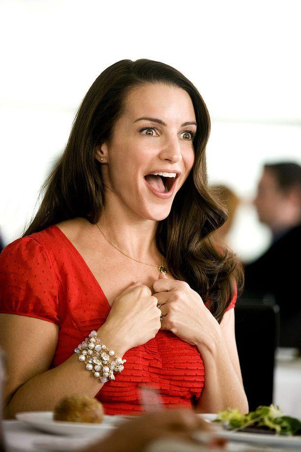 52-vuotias Kristin Davis esitti Sinkkuelämää-sarjassa Charlotte Yorkia.