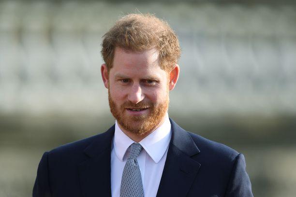 Prinssi Harry kertoi tuntemuksistaan hyväntekeväisyysjärjestön tilaisuudessa.