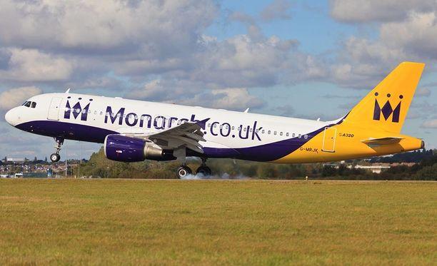 Monarch on lentänyt Britanniasta noin 40 lomakohteeseen.