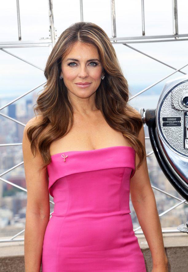 Lokakuun alussa New Yorkissa rintasyöpähyväntekeväisyystapahtumassa.