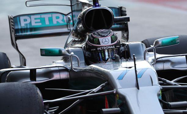 Valtteri Bottas haluaa päättää ensimmäisen Mercedes-kautensa voittoon.