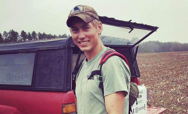Eräoppaana työskentelevä Dylan McWilliams aikoo liikkua luonnossa jatkossakin.