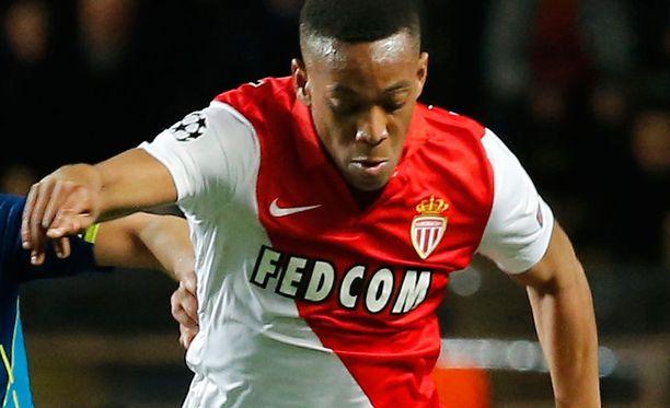 Anthony Martial hyökkää jatkossa Manchester Unitedin paidassa.