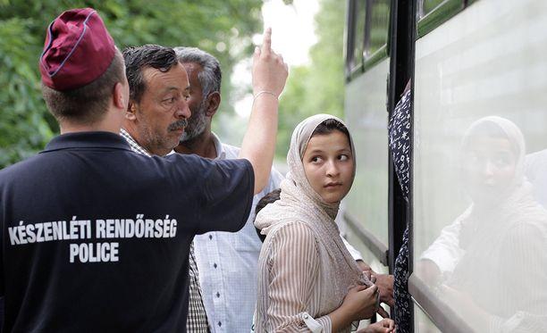 Viime vuonna kylän kautta kulki valtava määrä pakolaisia lähinnä Syyriasta ja Afganistanista.