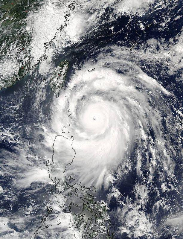 Nasan julkaisema satelliittikuva Merantista tiistaiaamulta.