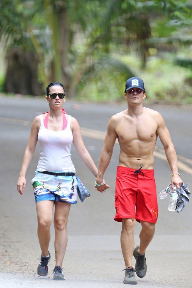 Katy Perry ja Orlando Bloom lomailivat yhdessä.