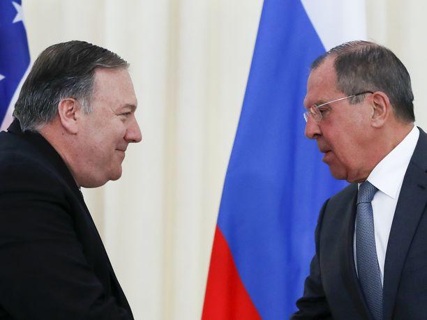 Yhdysvaltain ulkoministeri Mike Pompeo ja Venäjän ulkoministeri Sergei Lavrov tapaavat seuraavan kerran tiistaina Yhdysvalloissa.