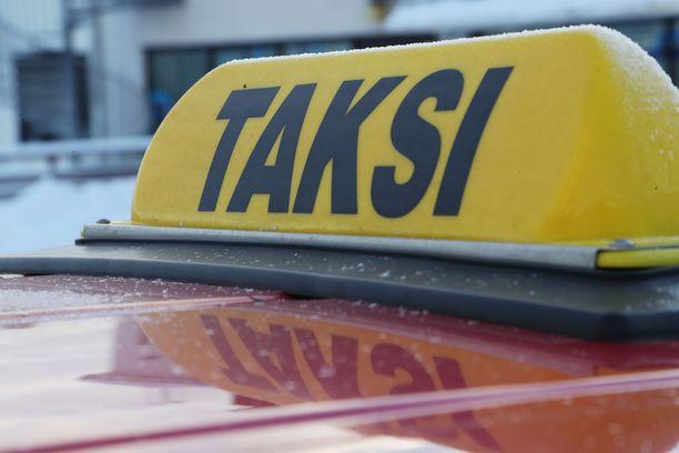 Taksissa ei ollut edes kuvan mukaista taksikupua. Kuvituskuva.