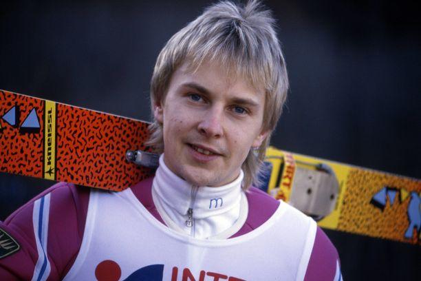 Matti Nykänen vuonna 1988.