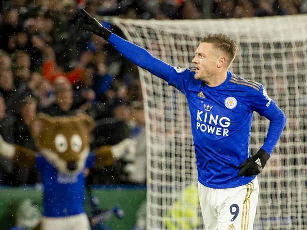 33-vuotias Vardy on edustanut Englannin maajoukkuetta 26 ottelussa.