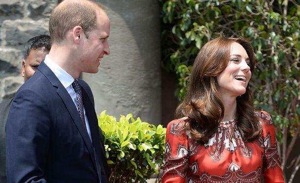 William ja Catherine tyytyivät huoneeseen, joka maksaa 700 puntaa yöltä.