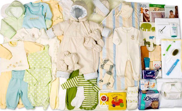 Perinteisen äitiyspakkauksen oheen suunnitellaan digitaalista sisältöä ja mittauslaitteita.
