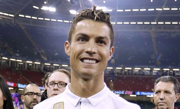 Cristiano Ronaldo on nyt kolmen lapsen isä.