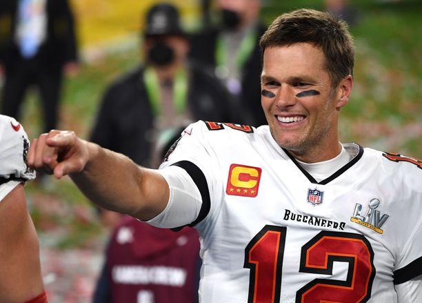 Tom Brady nauttii pelaamisesta edelleen.