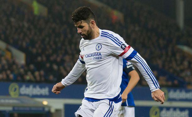 Diego Costa sai lisää pelikieltoa.