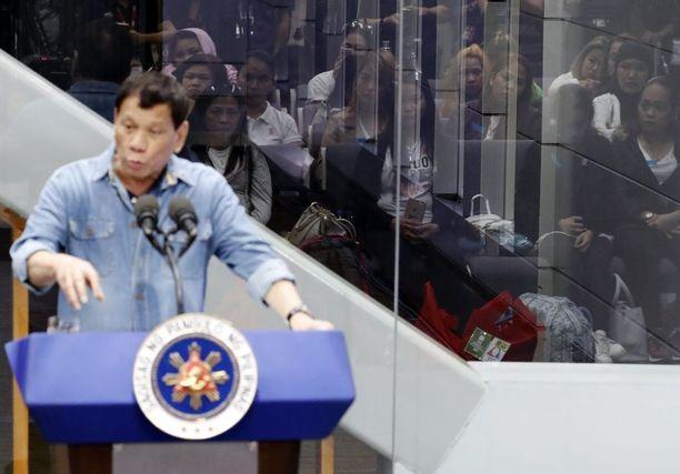 Rodrigo Duterten huumesodassa on tapettu mahdollisesti yli 10 000 ihmistä.