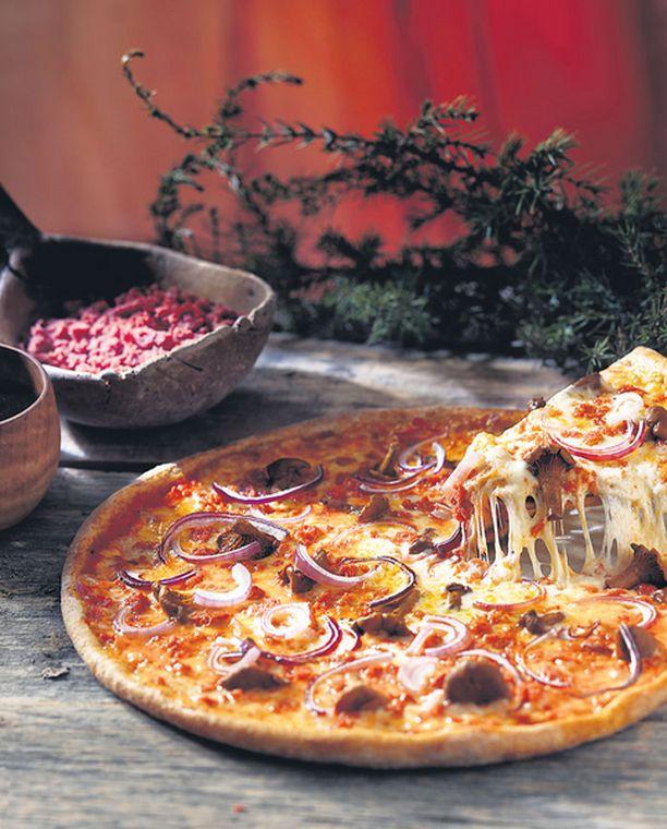 Berlusconi-pizza palkittiin New Yorkissa.