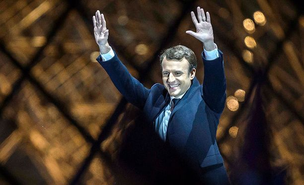 Emmanuel Macron voitti Ranskan presidentinvaalien toisen kierroksen ylivoimaisesti.