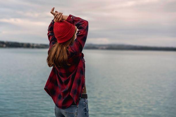Luonnon helmassa introvertinkin sielu lepää. Mikä rauha!